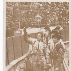 Postales: POSTAL FOTOGRAFICA DEL TORERO : JAIME PERICÁS, NACIO EN SANTANYÍ PALMA DE MALLORCA EN 1916. Lote 253895470