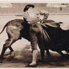 Postales: POSTAL FOTOGRAFICA DEL TORERO : JAIME NOAIN, NACIO BILBAO EN 1901. FOTO VIVES BARCELONA. Lote 253895985