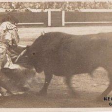 Postales: POSTAL FOTOGRAFICA DEL TORERO : HERIBERTO GARCIA, NACIO MEJICO EN 1907. FOTO VIVES BARCELONA. Lote 253897075