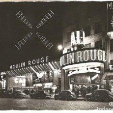 Cartoline: MOULIN ROUGE - PARÍS - 1961 - CHANTAL TROQUELADA. Lote 254050660