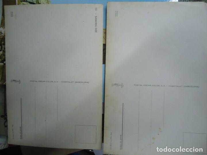Postales: LOTE DE 2 POSTALES DE SANDRA DEE YLA OTRA DE WILLIAM HOLDEN MIDEN 15 X 10 cm. SON RARAS EN BUEN EST - Foto 2 - 254944465