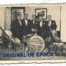 Postales: (PS-65057)POSTAL FOTOGRAFICA ORQUESTA ESPAÑOLA FAUSTO CERRO.FIRMADA. Lote 254959645