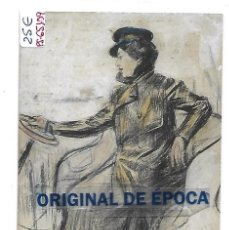 Postales: (PS-65109)POSTAL ILUSTRADA POR RAMON CASAS-LUIS BARTRINA. Lote 257512875