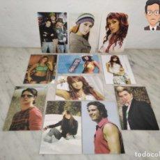 Postales: REBELDE (SERIE JUVENIL TV) . LOTE DE 31 FOTOS - POSTALES. Lote 261224345