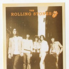 Postales: POSTAL THE ROLLING STONES. Lote 261951280