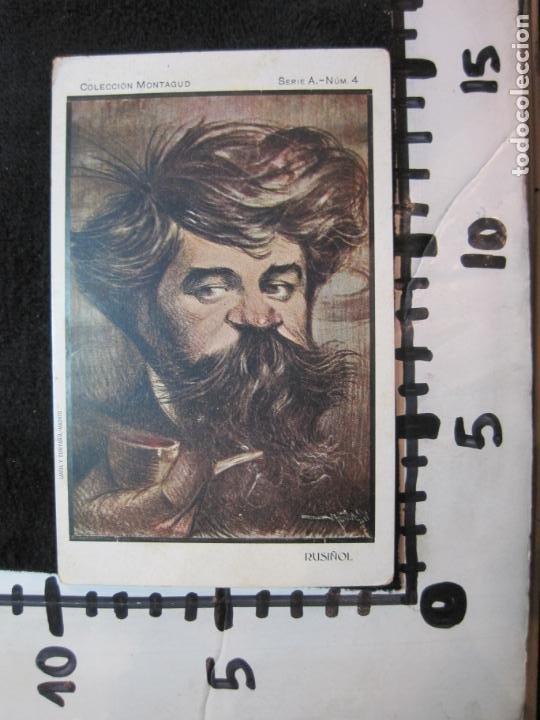 Postales: COLECCION MONTAGUD-PEREDA-SOROLLA-RUSIÑOL-EUSEBIO BLASCO-SERIE A-COL·4 POSTALES-VER FOTOS-(80.447) - Foto 13 - 262302525