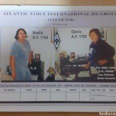 Postales: INTERNACIONAL DX GROUP GRAN CANARIA. Lote 262923880