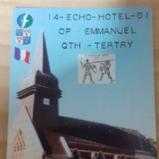 Postales: QTH TERTRY EMMANUEL. Lote 262924435