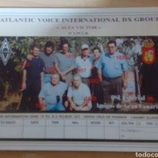 Postales: INTERNACIONAL DX GROUP AMIGOS DE GRAN CANARIA. Lote 262924920