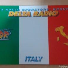 Postales: DX RADIO OPERATOR , GROUP ITALIA. Lote 262926770