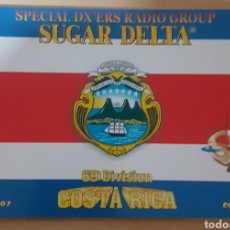 Postales: SPECIAL DX'ERS RADIO GROUP COSTA RICA. Lote 262927685