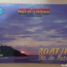 Postales: GRUPPO RADIO ITALIA ASTURIAS. Lote 262929340