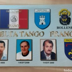Postales: INTERNACIONAL DX GROUP FRANCE. Lote 262929985
