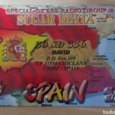 Postales: SPECIAL DX'ERS RADIO GROUP CÁDIZ. Lote 262930205