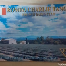 Postales: FRENCH RADIO CLUB FRANCÉS. Lote 262930510