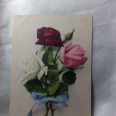 Postales: COLECCIÓN 11 POSTALES FLORES. FOTOGRAFÍAS COLOREADAS. STUTTGART 1912-1914. Lote 263612685