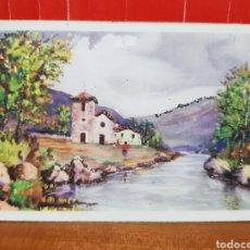 Postales: POSTAL ANTIGUA - AÑOS 50 - C.Y.Z.596 CON BRILLANTES. Lote 264433884