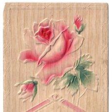 Postales: FLORES - TARJETA CON RELIEVE - CIRCULADA EN 1911. Lote 265856059