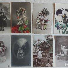 Cartes Postales: R-143.- LOTE DE -- 8 -- POSTALES ROMANTICAS .- VER FOTOS. Lote 277622533