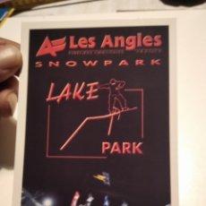 Postales: POSTAL LES ANGLES SNOWPARK. Lote 277664718