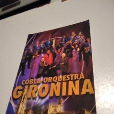 Postales: POSTAL COBLA ORQUESTA GIRONINA. Lote 277852323