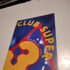 Postales: POSTAL CLUB SUPER 3. Lote 277852503