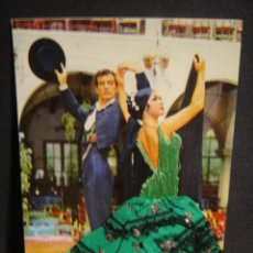 Postales: TARJETA FLAMENCO EN TELA Y BORDADOS - EDICIONES L. DOMINGUEZ - SIN CIRCULAR. Lote 278804153
