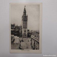 Postales: POSTAL SEVILLA. ENVIADA POR RICARDO LEON (HIJO) AL ESCRITOR ANGEL DOTOR. 1945. CIRCULADA. Lote 282007548