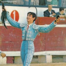 Postales: TAUROMAQUIA, MATADOR DE TOROS. TORERO PALOMO LINARES. ED. CHAPESTRO LOGROÑO Nº 510. AÑO 1967. Lote 287791953