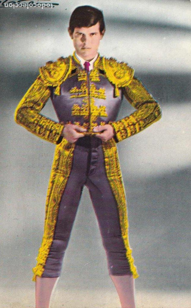 TAUROMAQUIA, MATADOR DE TOROS. TORERO EL CORDOBES. ED. TARJE-FER Nº 601. AÑO 1964 (Postales - Postales Temáticas - Especiales)