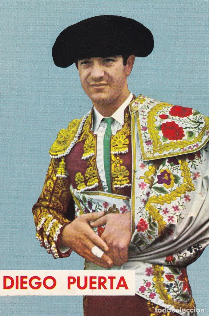 TAUROMAQUIA, MATADOR DE TOROS. TORERO DIEGO PUERTA. ED. FOTO CARRETERO Nº 536. AÑO 1966 (Postales - Postales Temáticas - Especiales)