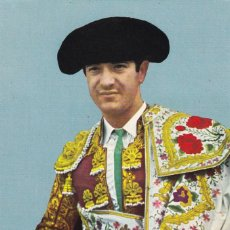 Postales: TAUROMAQUIA, MATADOR DE TOROS. TORERO DIEGO PUERTA. ED. FOTO CARRETERO Nº 536. AÑO 1966. Lote 287792783