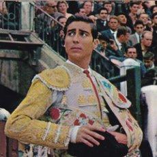 Postales: TAUROMAQUIA, MATADOR DE TOROS. TORERO JOSÉ FUENTES. ED. FOTO CARRETERO Nº 528. AÑO 1966. Lote 287794143