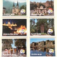 Postales: POSTALES MUNDIAL 82, COLECCIÓN DE 14. Lote 293575258