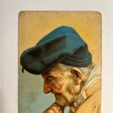 Postales: ANCIANOS. POSTAL CON MUCHA LUZ… PAGÉS … (H.1920?) S/C. Lote 293837503