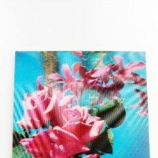 Postales: POSTAL 3D - ROSA. Lote 296629258