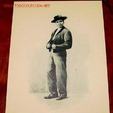 Postales: ANTIGUA POSTAL DE ROMO Y FUSSEL CHULO MADRILEÑO - UNION POSTAL INTERNACIONAL PRINCIPIOS DE SIGLO. Lote 8515689
