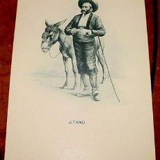Postales: ANTIGUA POSTAL DE ROMO Y FUSSEL GITANO LA UNION POSTAL INTERNACIONAL PRINCIPIOS DE SIGLO. Lote 14103034
