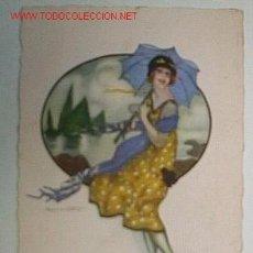 Postales: POSTAL CIRCULADA EN 1933. Lote 4040636
