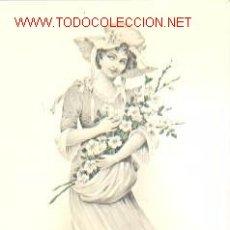 Postales: PRECIOSA POSTAL DE ÉPOCA.. Lote 22867034