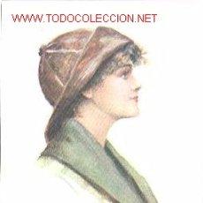 Postales: PRECIOSA POSTAL DE ÉPOCA CON ILUSTRACIÓN. AÑO 1916. Lote 22827001