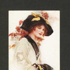 Postales: POSTAL ILUSTRADA: MUJER (ART DECO, ART NOUVEAU). Lote 4412480