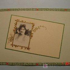 Postales: 8662 PRECIOSA POSTAL ESTILO ART NOUVEAU CON ARTISTA DE EPOCA AÑOS 1900 COSAS&CURIOSAS. Lote 4901231