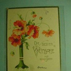 Postales: 366 FLOR FLORES FLOWERS FLEUR ESTILO ART NOUVEAU - MAS EN COSAS&CURIOSAS. Lote 14465490