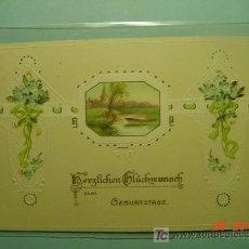 Postales: 382 FLOR FLORES FLOWERS FLEUR ESTILO ART NOUVEAU - MAS EN COSAS&CURIOSAS. Lote 5320717