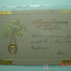 Postales: 391 PRECIOSA POSTAL ESTILO ART NOUVEAU - AÑOS 1900 - MAS EN COSAS&CURIOSAS. Lote 5328242