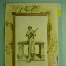 Postales: 359 PRECIOSA POSTAL ESTILO ART NOUVEAU - AÑOS 1900 - MAS EN COSAS&CURIOSAS. Lote 5328255