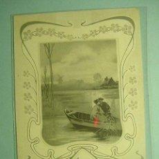 Postales: 378 FLOR FLOWER PRECIOSA POSTAL ESTILO ART NOUVEAU - AÑOS 1900 - MAS EN COSAS&CURIOSAS. Lote 11177834