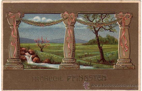 POSTAL CIRCULADA EN 1908 (Postales - Postales Temáticas - Estilo)