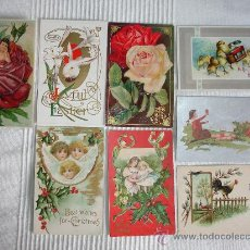 Postales: OCHO POSTALES ANTIGUAS COMIENZOS DEL S.XX.. Lote 9185114